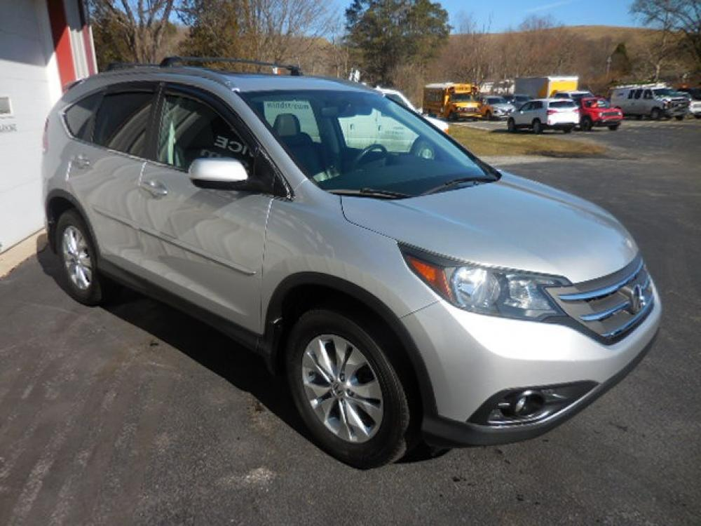 2013 Gray Honda CR-V EX-L 4WD 5-Speed AT (2HKRM4H75DH) with an 2.4L L4 DOHC 16V engine, 5-Speed Automatic transmission, located at 8464 Route 219, Brockway, PA, 15824, (814) 265-1330, 41.226871, -78.780518 - Photo #0