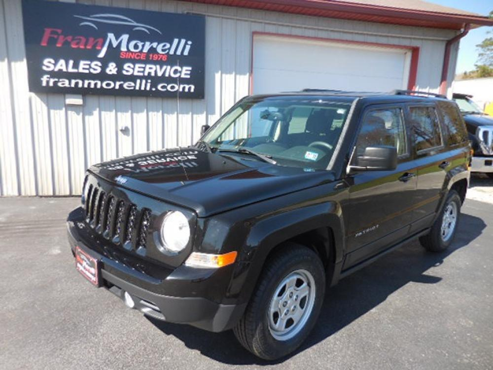2016 Black Jeep Patriot Sport 4WD (1C4NJRBB7GD) with an 2.4L L4 DOHC 16V engine, located at 8464 Route 219, Brockway, PA, 15824, (814) 265-1330, 41.226871, -78.780518 - Photo #0